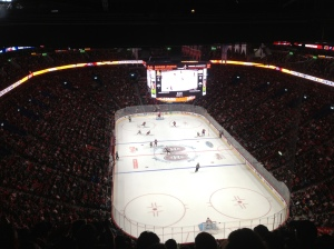 Our view of Canada's favourite sport - ice hockey.
