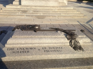 Tomb of the Unknown Soldier in Ottawa.