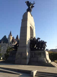 The Ottawa War Memorial.