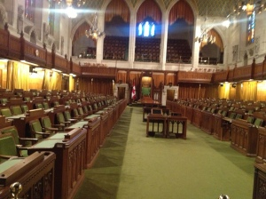 The Commons chambers.