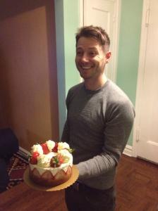 Ralf and his birthday cake.