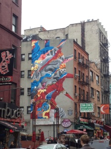 The nice thing about New York is that no matter where you go, there's almost always something interesting to see.