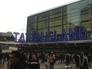 The port where the Staten Island Ferry departs from in Manhattan.