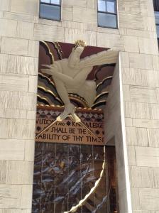 The Rockefeller Center.