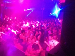 A packed out evening at VIVA Saturdays.