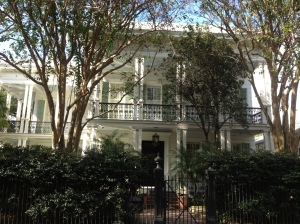 The houses were very different to the French Quarter, but beautiful in their own way.