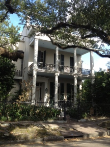 Anne Rice's former New Orleans residence.