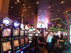 Inside the New York New York Hotel and Casino.